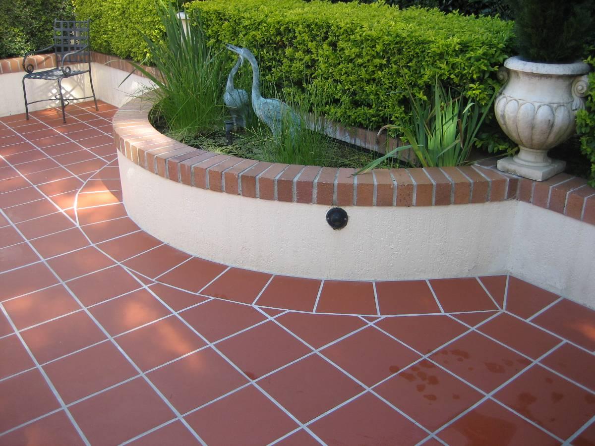 Vietnamese terracotta joint stock company floor tile 300x300x12mm with buy for Exterior terracotta floor tiles