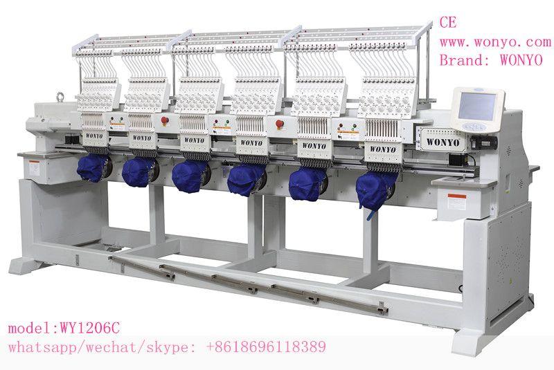 Shenzhen Wanyang Technology Co Ltd 6 Head Monogramming